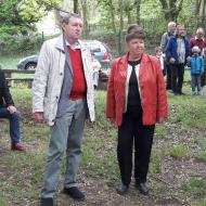 Europoslanec MUDr. Maštálka se svou asistentkou Zdeňkou Hornofovou