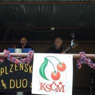 Celý odpolední program byl prokládán hudbou Plzeňského dua