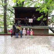 Vystoupení dětského souboru z Mateřské školy ve Dnešicích