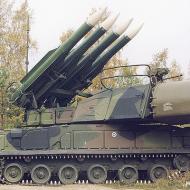 Ruský protiletadlový komplet BUK-M2, který sestřelil pravděpodobně izraelskou stíhačku na hranici Sýrie - Video: https://www.youtube.com/watch?v=DDXScnEKaP0